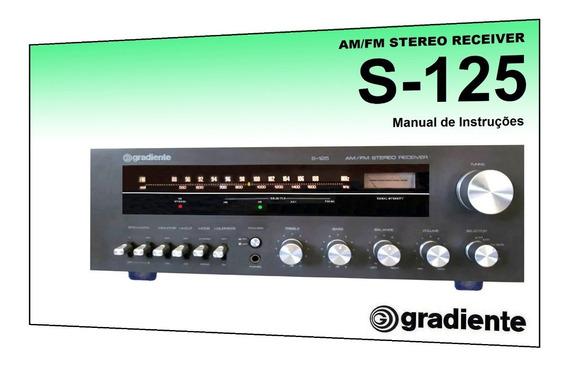 Manual Do Receiver Gradiente S-125 (cópia Colorida)