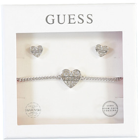 Set My Darling Plateado Guess Jewellery