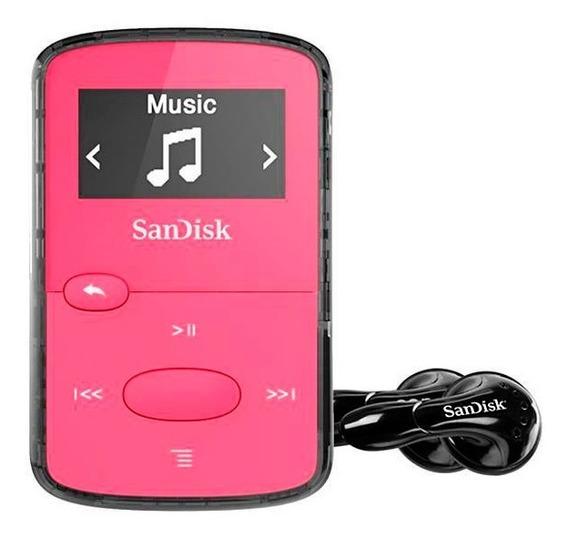 Reprodutor Mp3 Sandisk Clip Jam 8gb Leia O Anuncio!