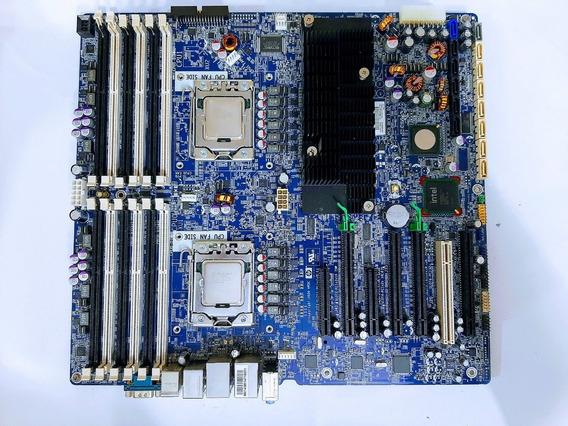 Placa Mãe Hp Z800 Workstation Xeon X5650 2.66ghz