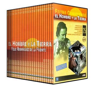 El Hombre Y La Tierra 26 Dvd Serie Completa Felix Rodriguez