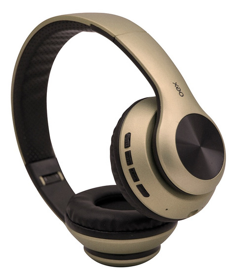 Fone Ouvido Headset Glam Bluetooth Microfone Hs311 Ouro Oex