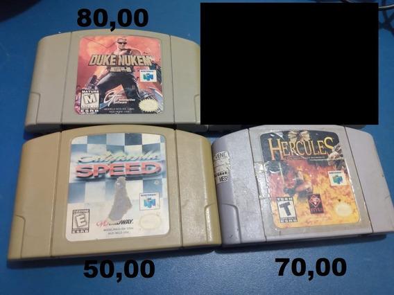Jogos De Nintendo 64. Preço Nas Fotos