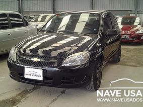 Chevrolet Celta 1.4 Ls 2013 Negro 3 Puertas Myl