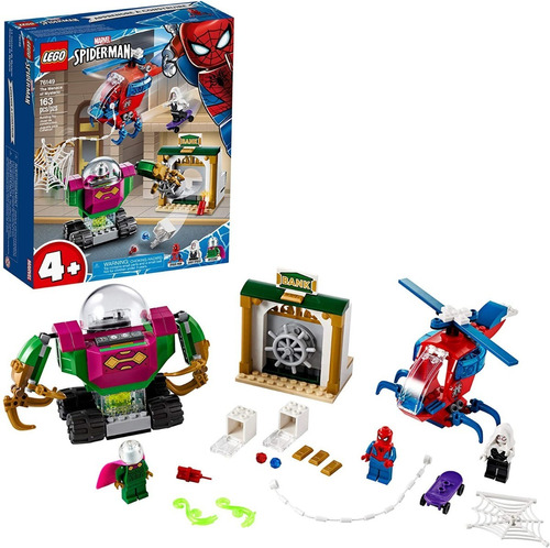 Lego Super Héroes 76149 Spiderman + Mysterio 163pzs