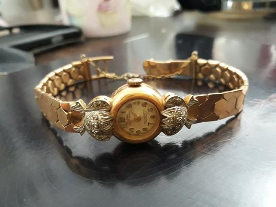 Lindo Relógio De Ouro Secular