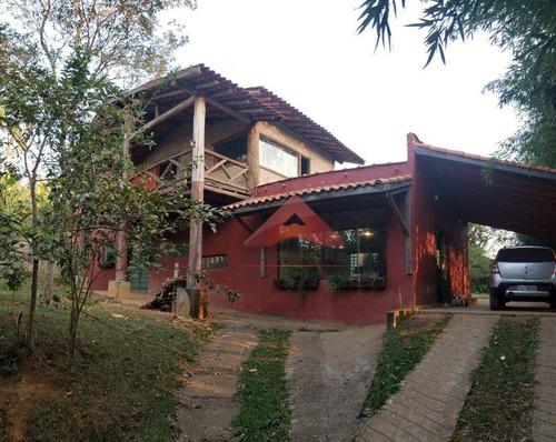 Imagem 1 de 22 de Chácara Com 3 Dormitórios À Venda, 3000 M² Por R$ 470.000,00 - Pau De Saia - São José Dos Campos/sp - Ch0089