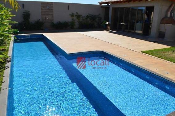 Casa Residencial À Venda, Golden Park, São José Do Rio Preto - Ca1605. - Ca1605