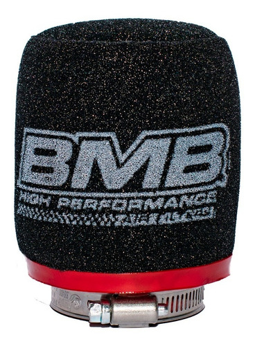 Filtro De Aire Bmb Competición 43x100 Recto - Nany Motos