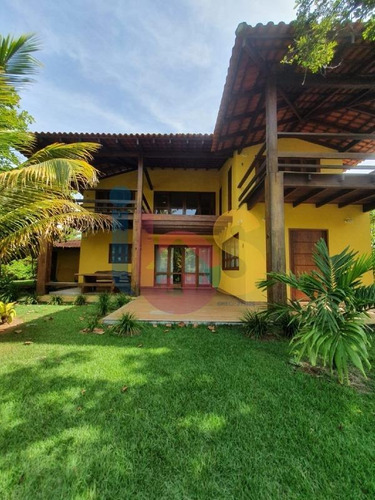 Imagem 1 de 23 de Casa Com 5 Suítes Em Serra Grande - 5493