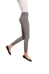 ad3bd9417 Legging Sem Costura Plus Size Borda Silicone Cós Loba Lupo
