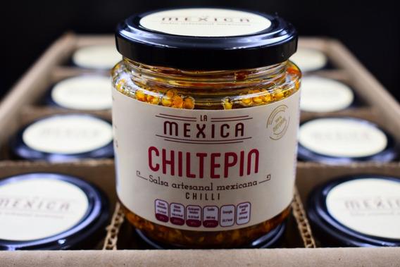 Salsas De Chiltepin Y Habanero!, Artesanales, Gormet 12pack!