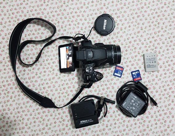 Câmera Nikon Coolpix - P510