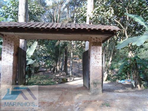 Chácara Para Venda Em Mauá, Núcleo Sampaio Vidal, 3 Dormitórios, 1 Suíte, 1 Banheiro, 5 Vagas - 163_1-1413247