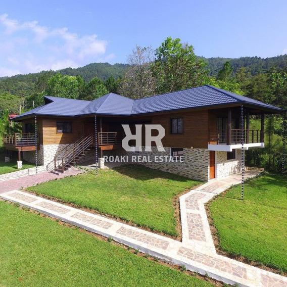 Hermosa Cabaña En Jarabacoa -ar0065