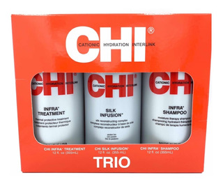 Chi Infra Shampo Silk Infusion Treatment 355 Ml C/u