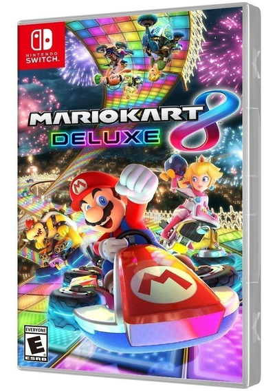 Mario Kart 8 Deluxe - Switch - Lacrado