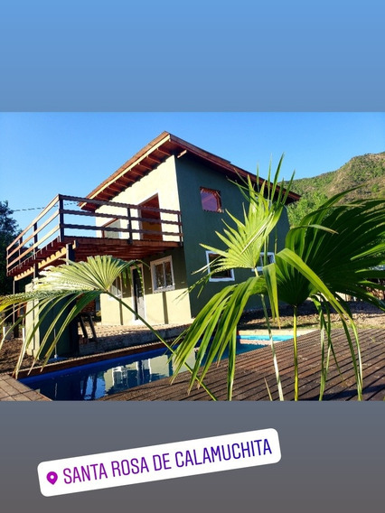 Casa En Santa Rosa De Calamuchita Con Pileta