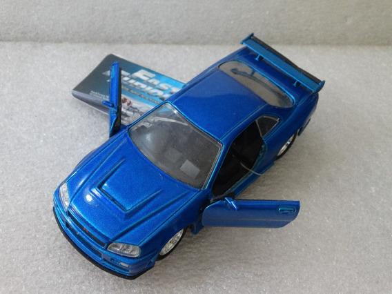 2002 Nissan Skyline Gt-r (r34) Velozes E Furiosos Jada 1:32