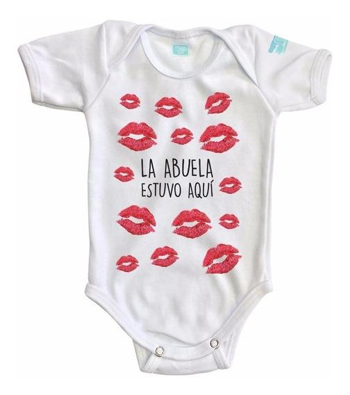 Pañalero Bebé La Abuela Estuvo Aquí Ropa Bebé Body Bebé