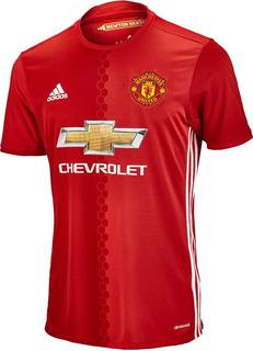 Jersey Manchester United Local 2016 ¡original! Caballero