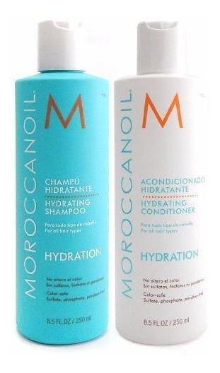 Moroccanoil Hydration 250ml Shampoo + Acondicionador Argan