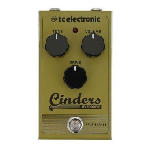 Pedal De Guitarra Tc Electronic Cinders Overdrive Novo Origi