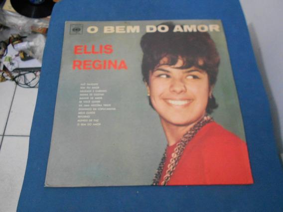 Lp - Elis Regina - O Bem Do Amor - Raro