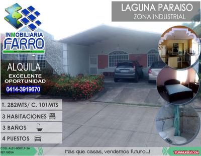 Alquiler De Casa En Urb Laguna Paraiso Al01-0007lp-sa