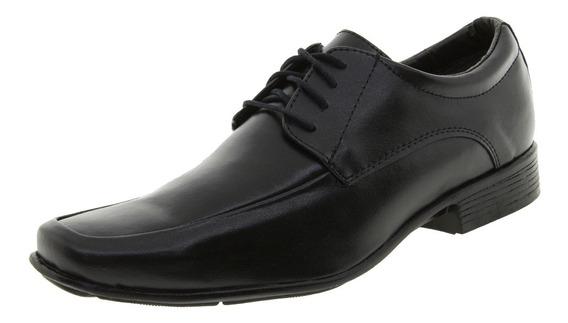 Sapato Masculino Social Preto Street Man - 240