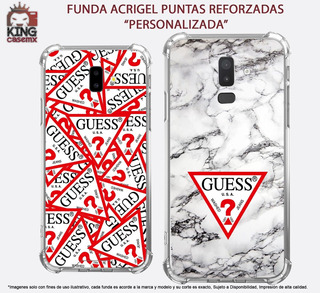 Funda Acrigel Guess Lujo iPhone 5 6 7 8 Plus X Xr Xs Max