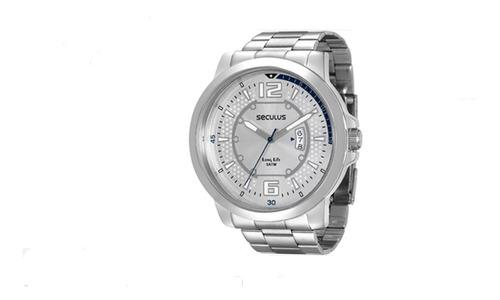 Relógio Masculino Seculus Long Life 28792g0svna1= 52