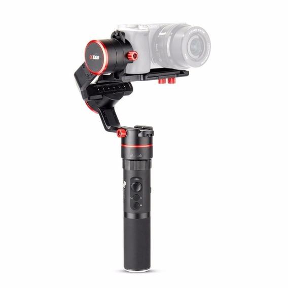 Estabilizador 3 Eixos Feiyutech A1000 1,7kg Mirrorless Filmagens Rotação 360º Nikon Canon Sjcam Eken Dslr Sony Panasonic