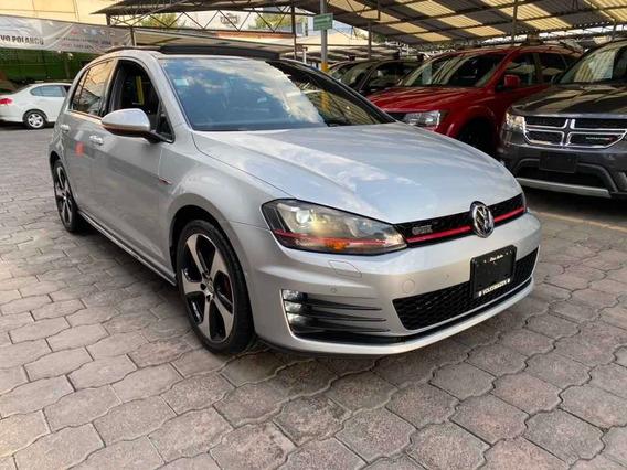 Volkswagen Golf Gti 2.0 Dsg Navegación Piel At 2016