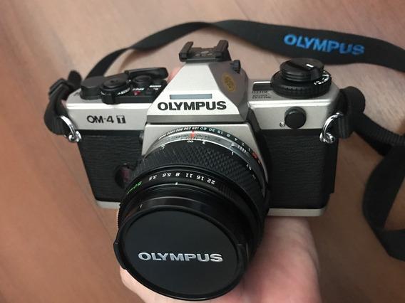 Câmera Olympus Om4t Raríssima Mint Om1 Om3 Melhor Da Série