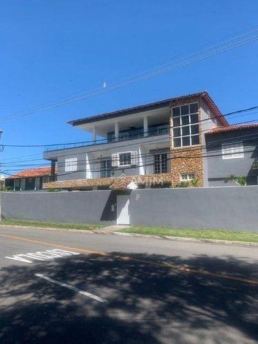 Excelente Casa Em Camboinhas,  8 Quartos Com 2 Suítes. 5 Vagas. Niterói/rj - Ca0668