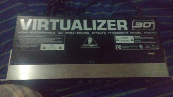 Virtualizer 3d Fx2000 Behringer (abaixei O Valor)