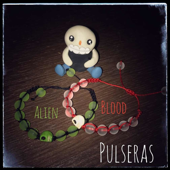 Pulsera Alien Y Blood: $150