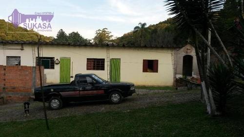 Imagem 1 de 12 de Chácara Com 2 Dormitórios À Venda, 70 M² Por R$ 478.000,00 - Sítio Casa Vermelha (ouro Fino Paulista) - Ribeirão Pires/sp - Ch0001