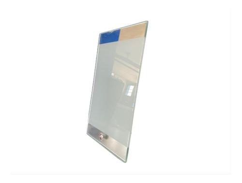 Imagen 1 de 3 de Porta Retrato De Cristal Espejo 23 X 15 Cms