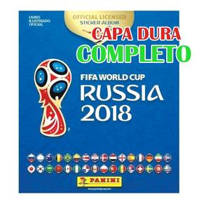 Álbum Copa 2018 Completo - Capa Dura