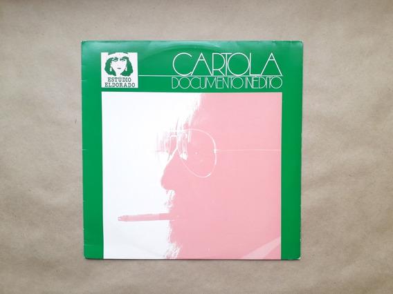 Lp Cartola Documento Inedito Original 1982