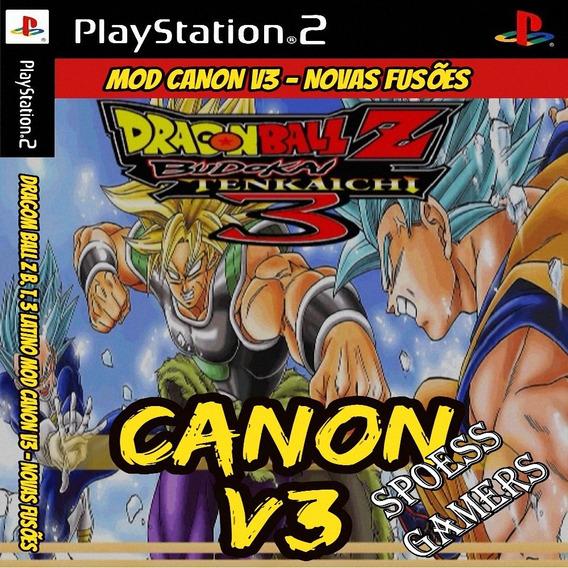 Mod Canon V3 Ps2 Dragon Ball Z Budokai Tenkaichi 3 Patch