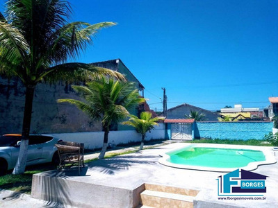 Aluga-se Casa Com Piscina Para Temporada Finais De Semanas Na Praia De Mongaguá A 500m Da Praia 13-981742222 - Ca0064