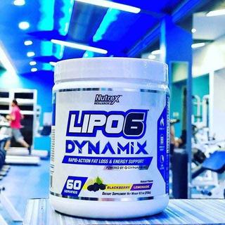 Pré Treino Lipo-6 Dynamix Nutrex Importado Usa