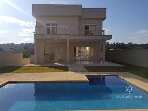 Imagem 1 de 30 de Casa Com 4 Dormitórios À Venda, 400 M² Por R$ 1.900.000,00 - Granja Viana - Jandira/sp - Ca1959