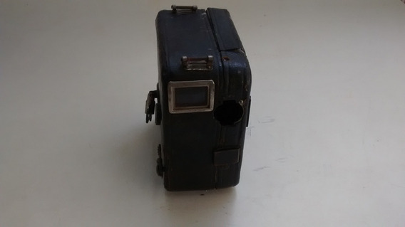 Filmadora Antiga Motocamera Com Capa Protetora Rara