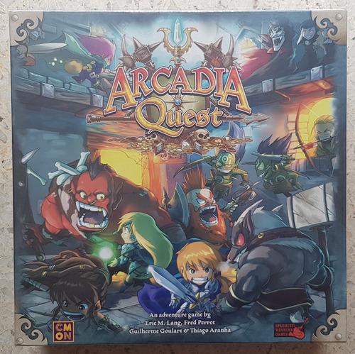 Arcadia Quest Juego De Mesa / Boardgame Nuevo!!