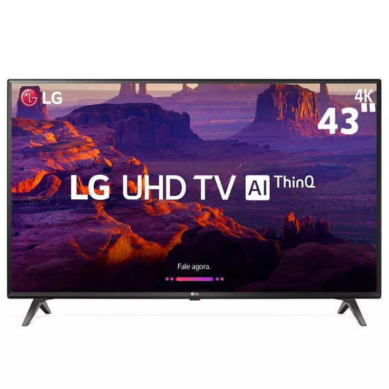 Smart Tv 43 4k Lg Uhd 43uk6310 Ips Thinq Ai Wi-fi Hdr10 Pro