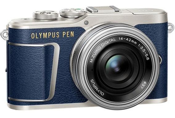 Câmera Olympus E-pl9 14-42mm (estojo) Azul